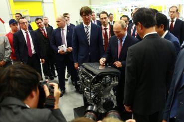 Путин открыл завод
