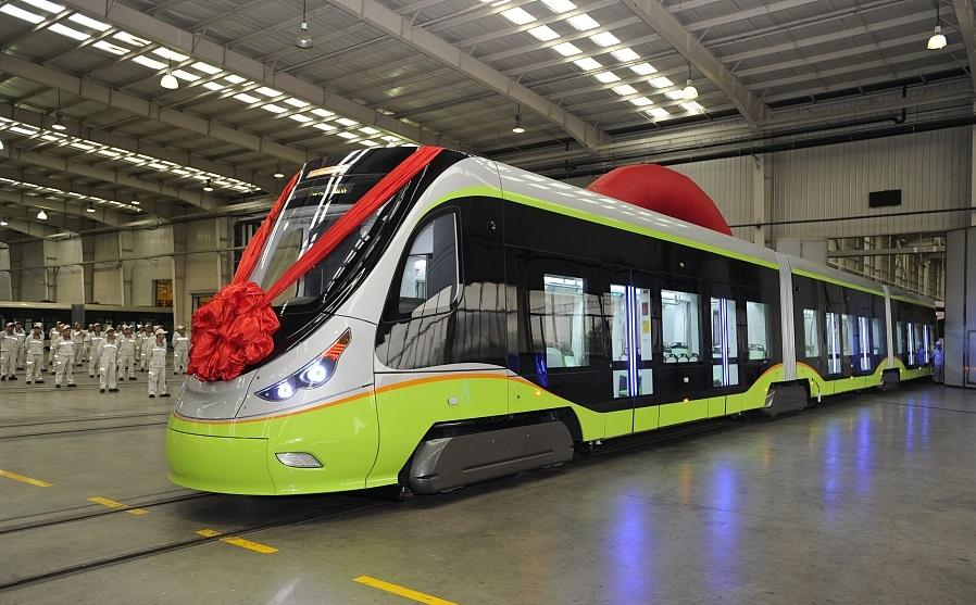 Беспилотный трамвай